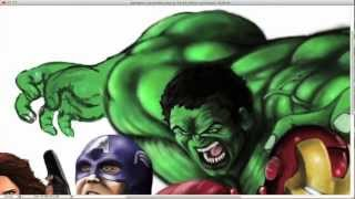 The Avengers Theme Remix & Speed Painting by Dugg E