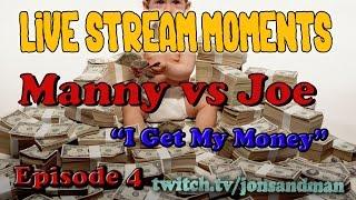 arma 3 life live stream moments a3l manny vs joe episode 4 i get my money