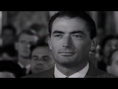 Tribute to Gregory Peck  Happy 100th birthday!