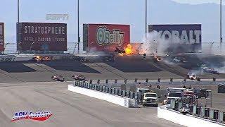 Dan Wheldon Fatal Crash 2011 IndyCar Las Vegas