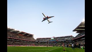 FlySafair Flies Over Ellis Park Stadium | 24 June 2017