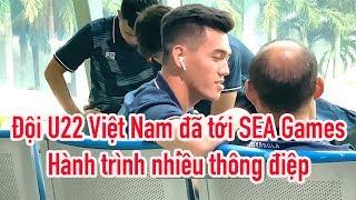 HLV Park Hang Seo - Quang Hải - Văn Hậu cùng U22 Việt Nam ✈ SEA Games