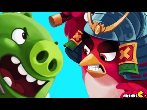 Angry Birds Fight! RPG Puzzle - New Minion Bad Piggies Boss!