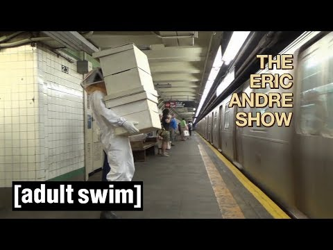 Honey Time Bee Pollen   The Eric Andre Show   Adult Swim