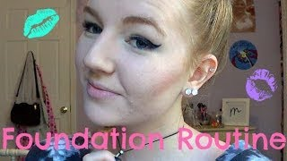 foundation routine tips for acne prone oily skin   meghan hughes