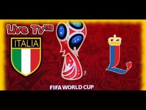 LIVE TV -  Live in Diretta streaming ITALIA - LIECHTENSTEIN Qualificazione Mondiale  - SUBSCRIBE !!!