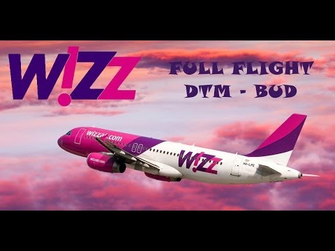 W!ZZ A320 FULL FLIGHT