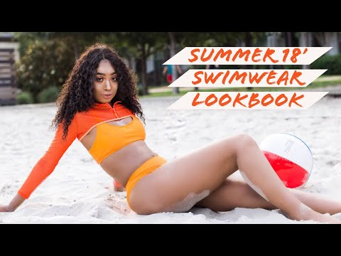 Summer 18' Swimwear Lookbook