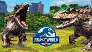Мегалозух тестируем все удары Jurassic World Alive