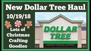 New Dollar Tree Haul 🤑 10/19/18