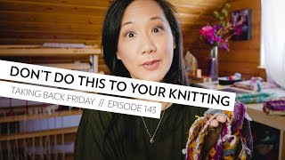 Don't do this to your colorwork knitting... // Wild Autumn Cardigan // colorwork knitting