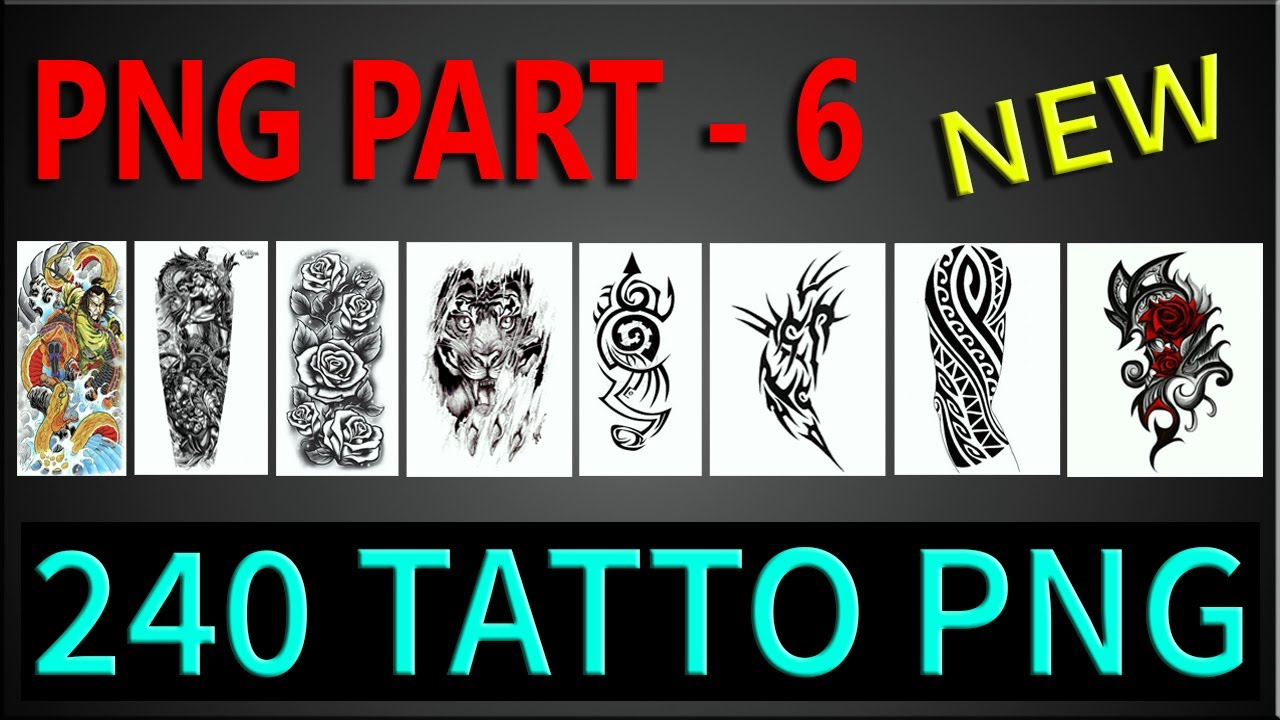 240 Tattos Png Zip File How To Download Tattoo Png Cb Edits