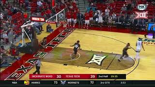Texas Tech vs. Incarnate Word Men\'s Basketball Highlights