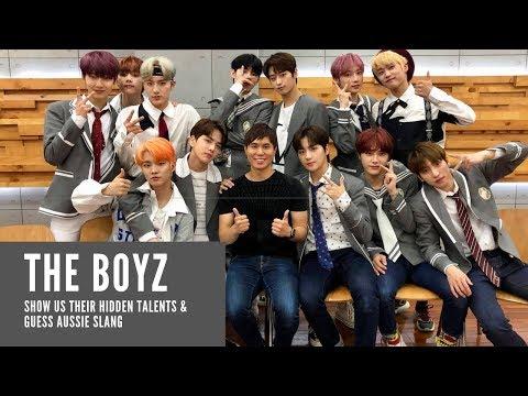 The Boyz show us their hidden talents & guess Aussie slang