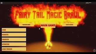 Roblox Fairy Tail Magic Brawl Trying Out Lots Of Magic