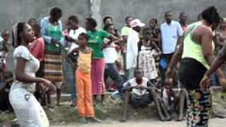 Congolese Dance/Drum Rehearsal #2,  Brazzaville, Congo