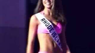2002 Miss Rhode Island Teen USA Alysha Castonguay prelim swimsuit