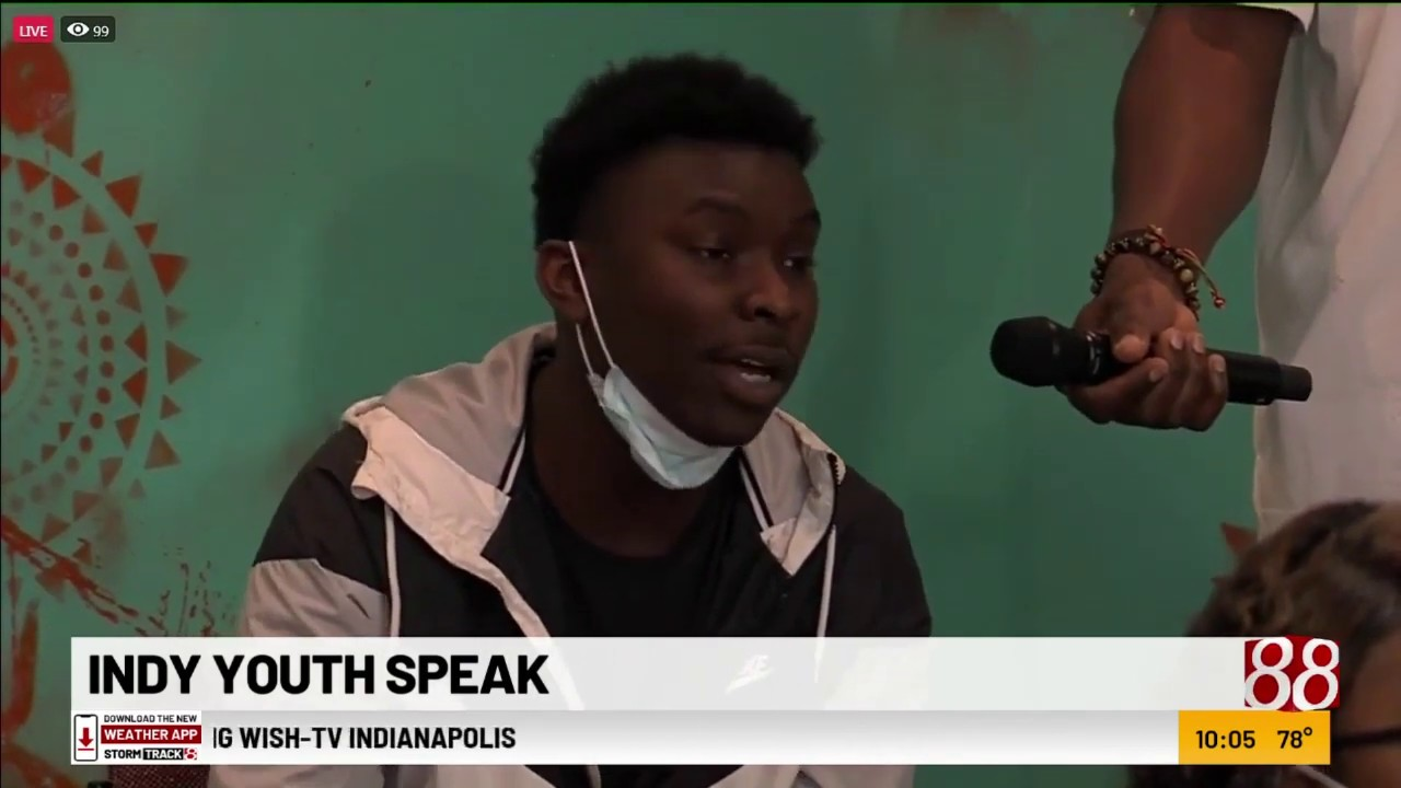 'A world on fire': Indianapolis teens voice community concerns, hopes for change