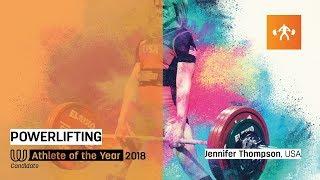 Jennifer Thompson - Athlete of the Year Candidate 2018