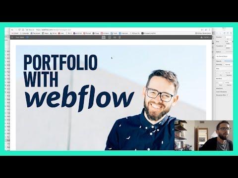 Custom Portfolio With Webflow