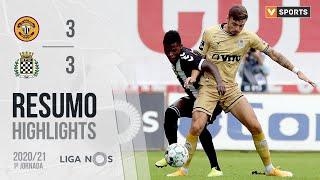 Highlights   Resumo: CD Nacional 3-3 Boavista (Liga 20/21 #1)