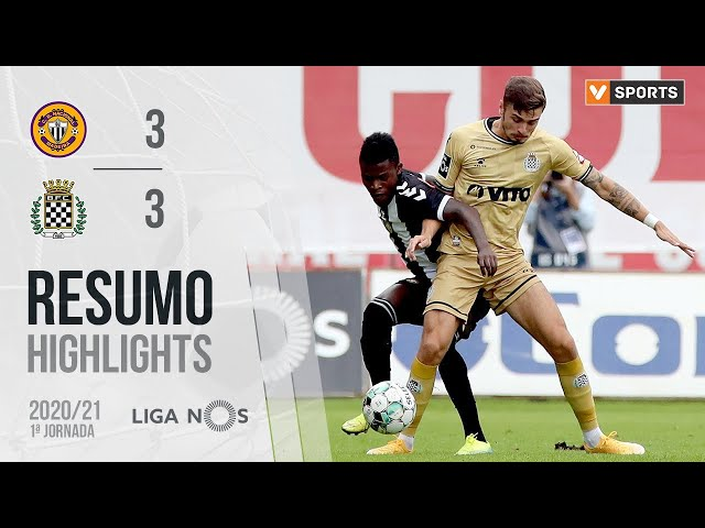 Highlights | Resumo: CD Nacional 3-3 Boavista (Liga 20/21 #1)