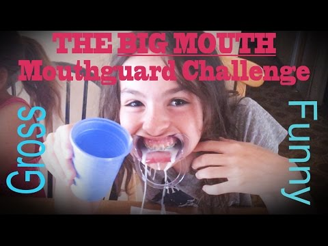 The BIG MOUTH Mouthguard Challenge -  Family Style