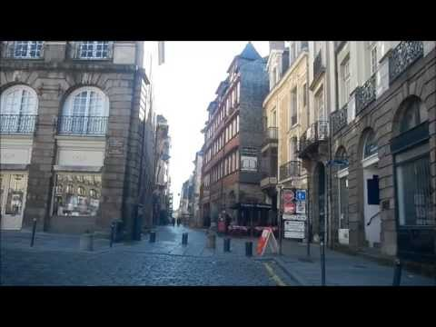Driving in Rennes - France