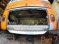 Vw bus restoration. Day 82 - ?Rear end shenanigans part 7?.