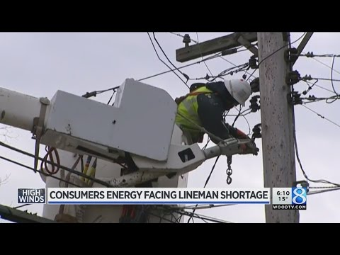 Consumers Energy hit by worker shortage
