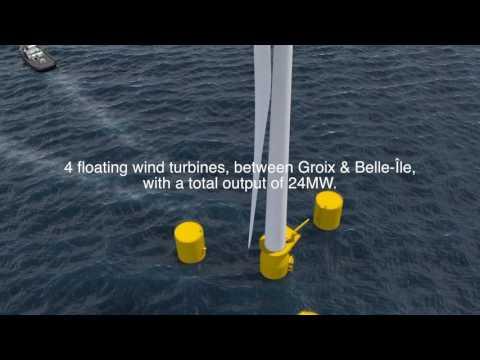 EOLFI I Groix & Belle-Île floating wind farm project