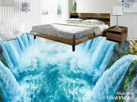 Amazing 3D room tiles