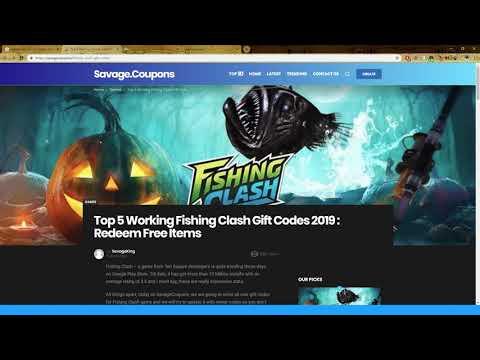 Fishing Clash подарочные коды. Существуют ли они вообще?