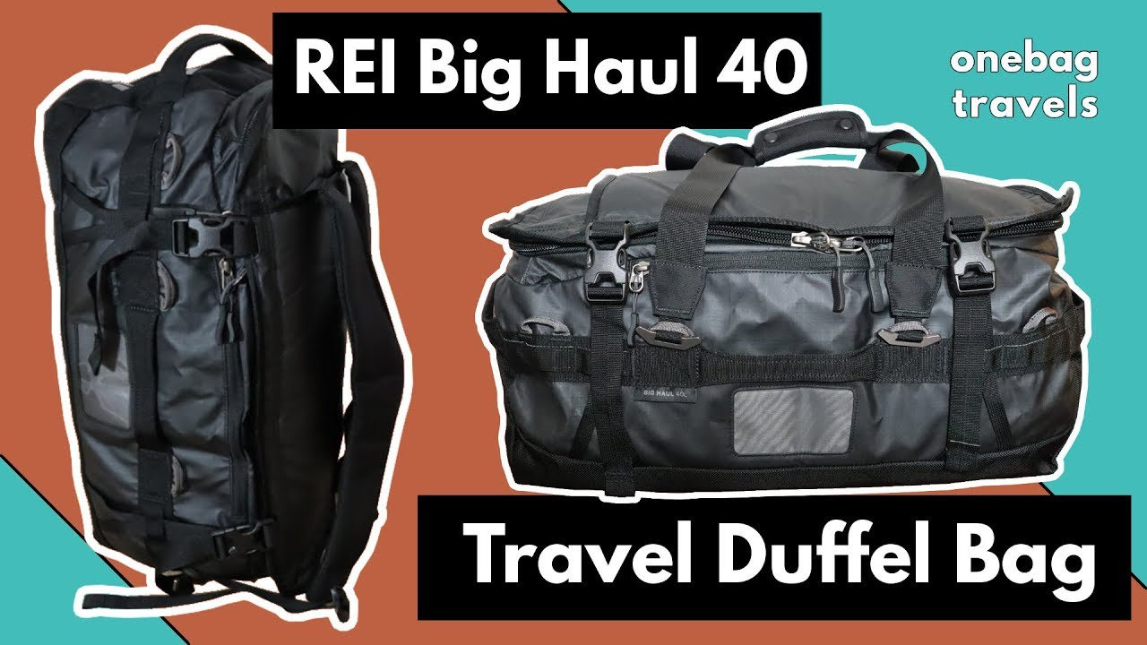 Rei big haul duffel travel bag review youtube jpg 1280x720 Rei travel bag 182ad25a3ee52
