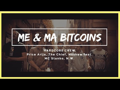 Hardcore Crew feat. MC Stanko, N.W. - Me & Ma Bitcoins (Official Music Video) - BITCOIN BTC RAP SONG