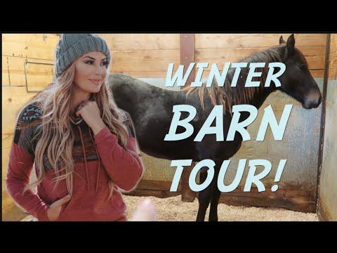 WINTER BARN TOUR!