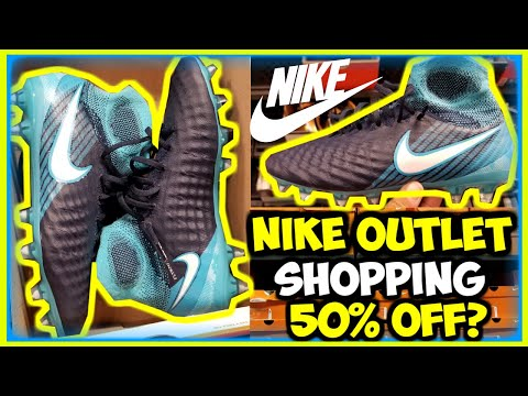 I AM LOST FOR WORDS!...3 NIKE OUTLET STORES IN 1 DAY | NIKE OUTLET SOCCER FINDS | SOCCER FINDS