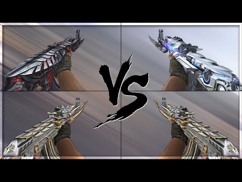 CrossFire 2.0 : AK-47 KNIFE BORN BEAST vs AK-47 VIP's [VVIP AK-47 Comparison]