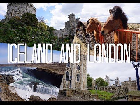 TRAVEL VLOG   ICELAND AND LONDON 2017