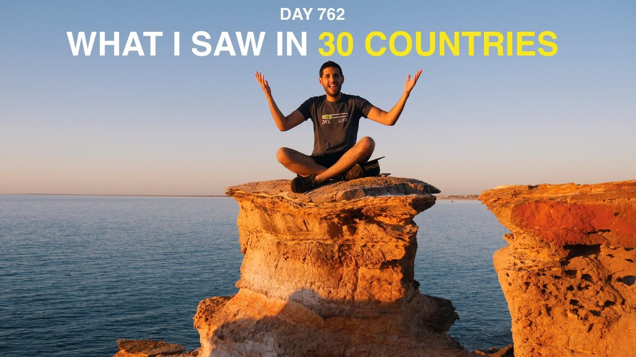 What I saw in 30 countries!