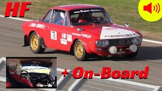 Lancia Fulvia HF 1.600 Gr.4 - Action + On-Board Camera!