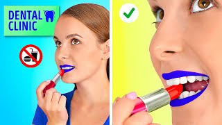 CRAZY WAYS TO SNEAK FOOD || How To Sneak Food Anywhere You Go By 123 GO! GOLD