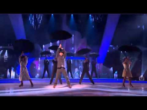 Matthew Wolfenden and Nina Ulanova  Singing in The Rain  Dancing On Ice Final