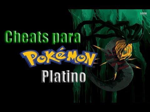 CHEATS PARA POKEMON PLATINO!!!!