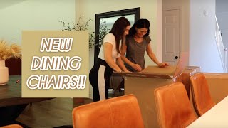 we got new dining chairs \\ house decor update & fall haul