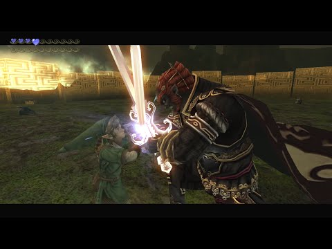 Zelda: Twilight Princess HD - Final Boss Battle: Dark Lord Ganondorf (Hero Mode + Ganondorf amiibo)