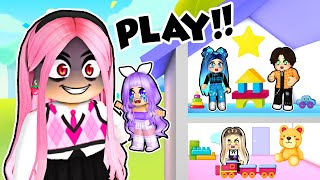 Evil Babysitter plays DAYCARE in Roblox!