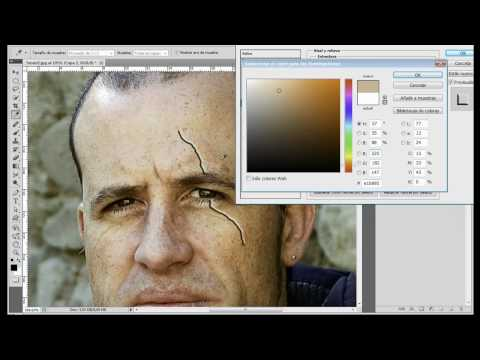 Tutorial Photoshop // Crear cicatrices (By Txomi Rodriguez)