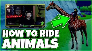 How to Tame aฑd Ride Animals in Craftopia   Step by Step Craftopia Guide