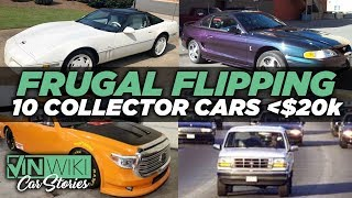 Rabbit's Top 10 Collector Cars under $20k